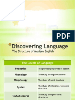 Discovering Language (Structures of Modern English)