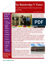 Bainbridge YMCA October Newsletter Edition