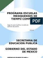 Programa Escuelas Mexiquenses de Tiempo Completo