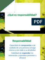 Qué es responsabilidad