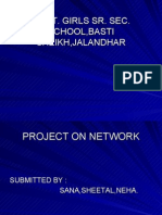 Project on Network
