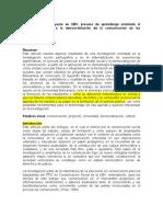 Metodología de Proyecto en UBV