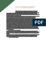Criterio de Estructuración Sismos Resistente en Edificios
