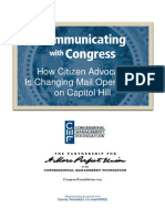 How Citizen Advocacy Is Changing Mail Operations on Capitol Hill