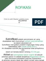 Eutrofikasi