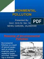 Environmental Pollution(Nehru Garden, Jalandhar
