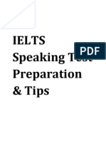 IELTS Speaking Test Preparation & Tips