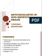 Anticoagulantes in Vivo Sintetico Orales