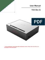 TViX Slim S1 English