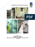 Limpieza y Desinfeccion en La Industria de Alimentos