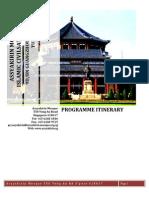 9D/8N Islamic Civilisation Tour China 2011