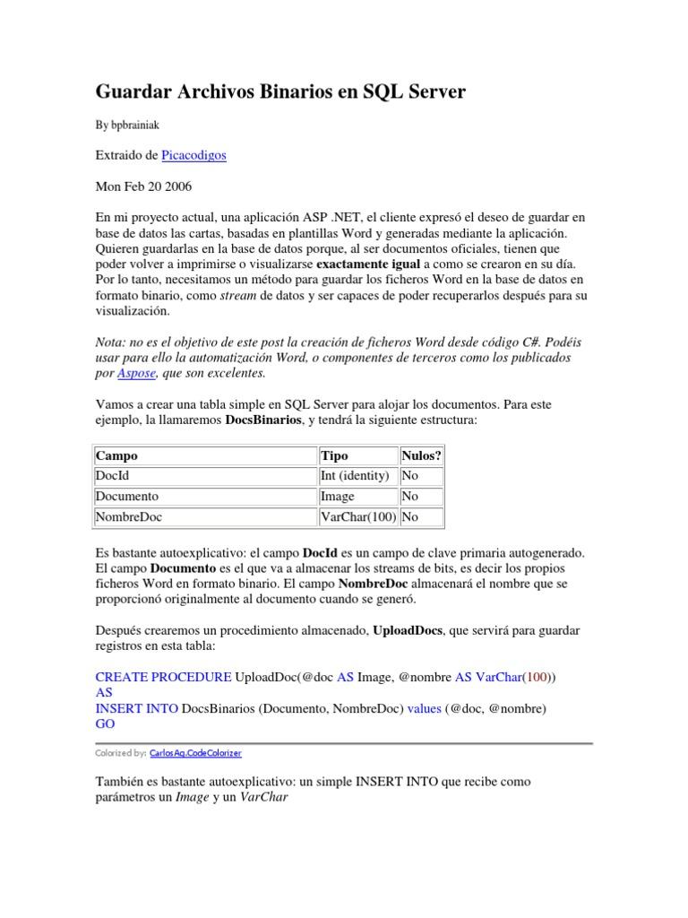 manual sql server 2014 español pdf