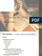 Metodologia Do Estudo