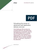 Site Resources Dynamic Salesdocs NetScaler VPX Datasheet