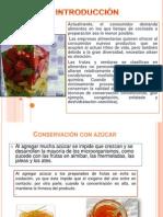 Conservacion Por Azucarado