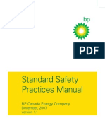 Standard Safety Practices Manual