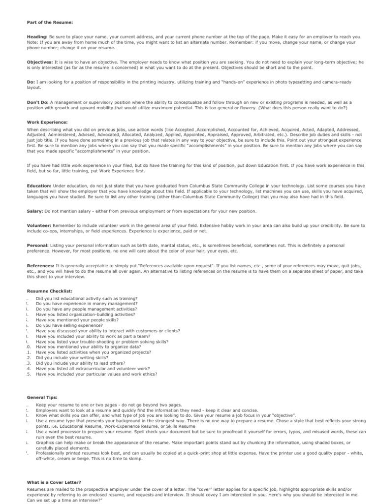 resume chk résumé proofreading
