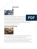 Agglomeration & Pelletization