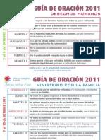 Guía Oración 2011 Octubre