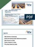 S4 Busso Von Alvenseleben (KfW) - Financing Solar Projects
