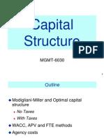WACC Capital Structure