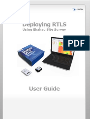 ESS User Guide for Deploying RTLS | Wi Fi | Installation