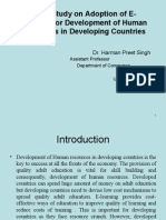 E-Learning in Developing Countries