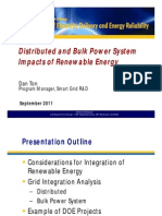 S6 Dan Ton (U.S. DOE) - Distributed and Bulk Power System Impacts of Renewable Energy