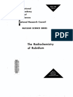 The Radio Chemistry of Rubidium.us AEC