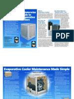 Evap Coolers Brochure