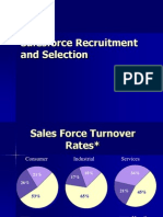 Sales Force Recruitment and Selection
