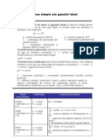 Procese Simple Ale Gaszului Ideal (1)