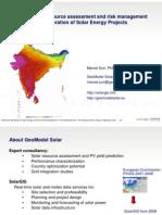 S8 Marcel Suri (GeoModel Solar) - Bankable Solar Resource Assessment and Risk Management