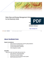 S8 Marcel Suri (GeoModel) - Solar Data and Energy Management Infrastructure