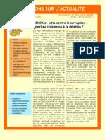 UEMOA et lutte contre la corruption