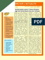 Désinformation contre l'Union africaine
