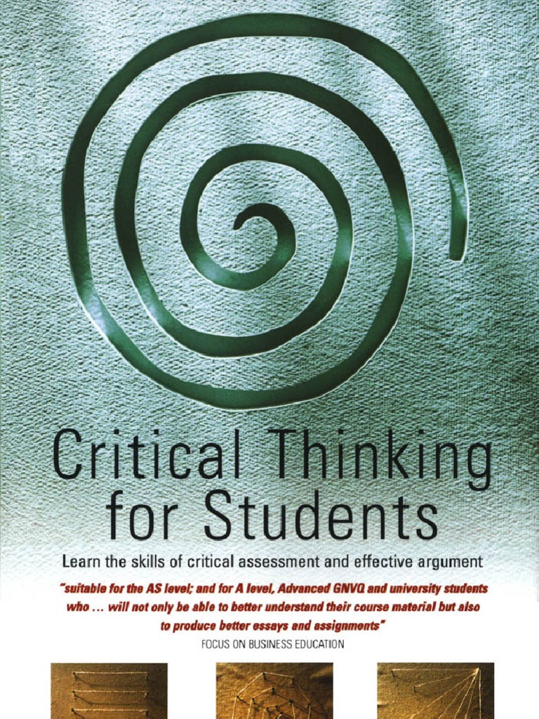 Critical thinking for students argument critical thinking fandeluxe Image collections