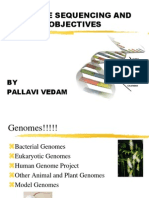 Genome Sequencing and Objectives
