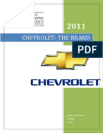 chevrolet the brand