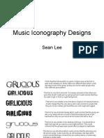 Music Iconography Designs
