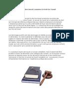 Avocat Lausanne en Droit Du Travail