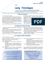 Journal N°178 - journal de l'association de bourg l'évèque - Rennes