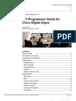 Digital Signs API Programmer Guide v5.2