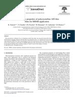 Piezoelectric Properties of Aln