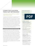 DS QlikView Connector for Use With SAP Netweaver ES