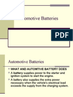 Automotive Batteries Construction