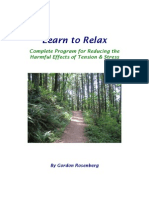 Relaxation A Path to Healing