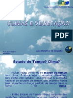 Climas_Vegetação