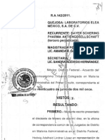 AmparoDH 17 Tribunal Colegiado en materia administrativa del primer circuito