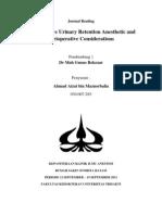 Journal Anesthesia
